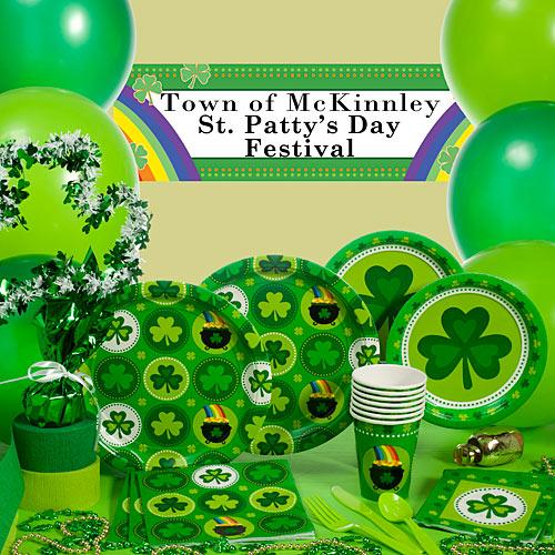 St. Patrick's Day party kit