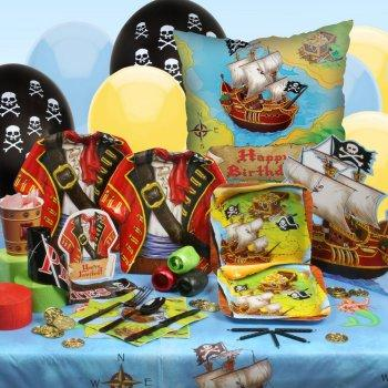 Buried treasure pirate party