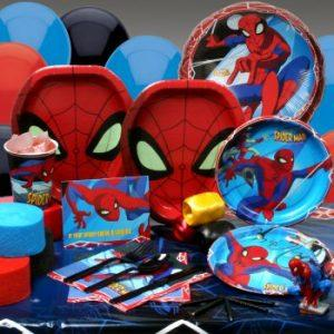 Spiderman party theme