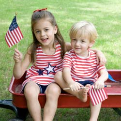 Patriotic Parties – Be True to the Red, White and Blue