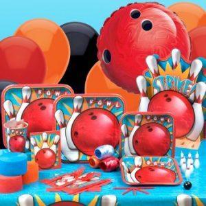 Bowling party theme