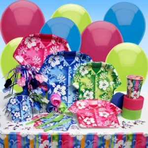 Bahama Luau Party theme