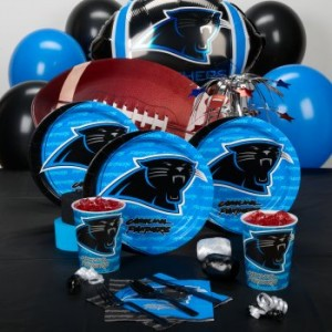 Carolina Panthers Football theme party