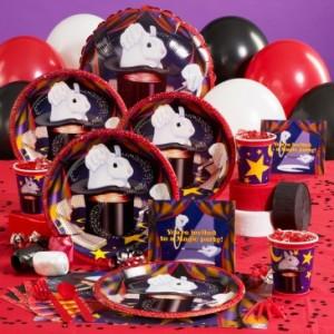 magic theme birthday party supplies