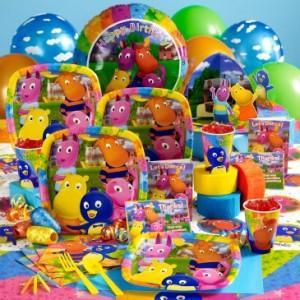 Backyardigans theme party