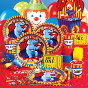 Circus party theme supplies