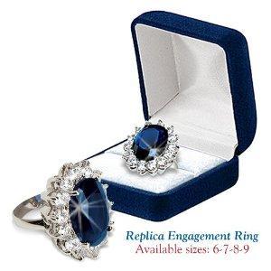 Kate Middleton engagement ring replica
