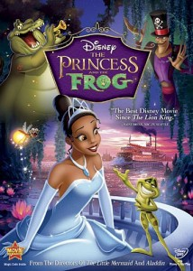The Princess and the Frog DVD