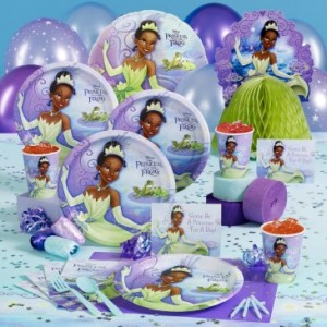 The Princess and the Frog Party Supplies