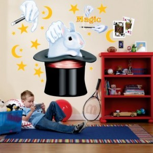 magic themed wall decals