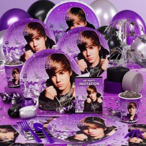 Justin Bieber Party Supply Pack