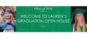 Personalized grad party invite
