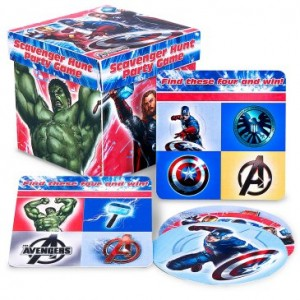 avengers scavenger hunt party game