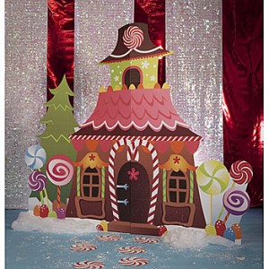 Gingerbread party theme