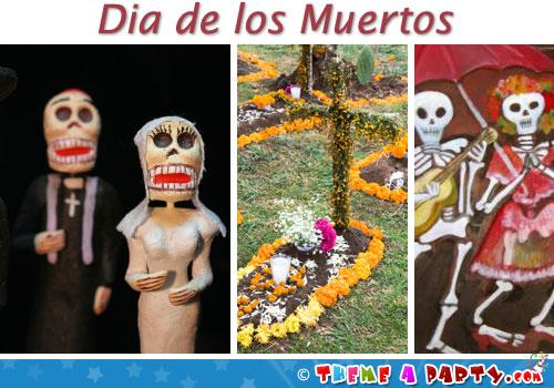 Dia De Los Muertos Day of the Dead Party Ideas