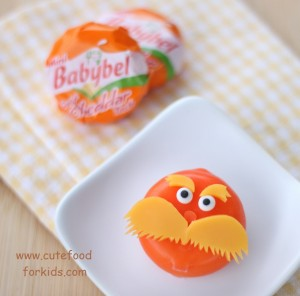 Babybel Lorax cheese