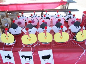 Farm Barnyard Party Hats