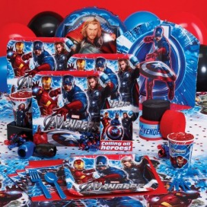 Marvel Superhero Avengers Birthday Banner 2