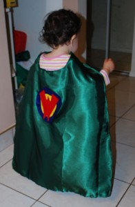 Baby Wonder Pet cape