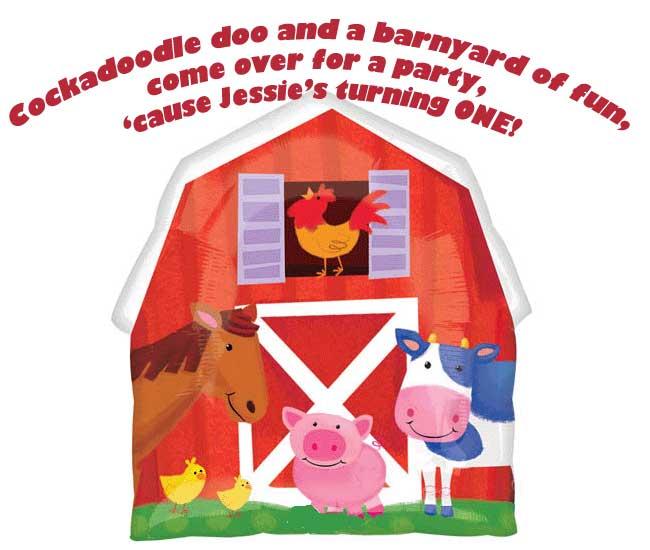 Barnyard Birthday Party Ideas Themeaparty – Barnyard Birthday Invitations