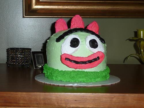 brobee yo gabba gabba cake