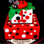 Ladybug Cakes For Your Little Love Bug