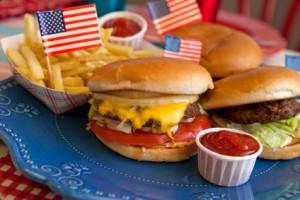 captain america burger