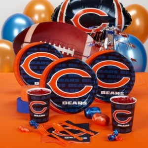 Chicago Bears party supplies