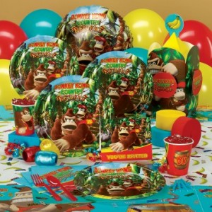 donkey kong party supplies