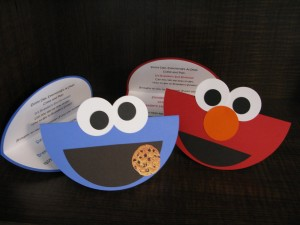 elmo invitations