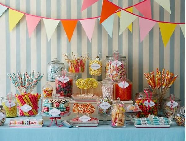The Ultimate Candy Bar Buffet Themeaparty