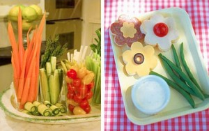 garden baby shower food