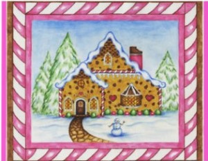 gingerbread house invite