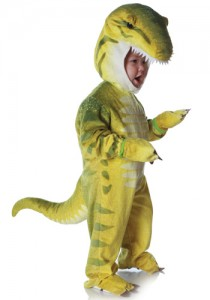 green t rex costume