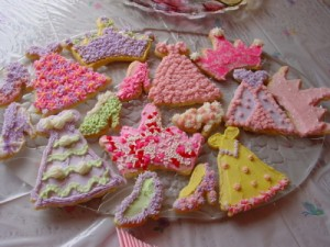 Fairy tale princess cookies