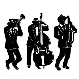 jazz silhouettes for wall decor