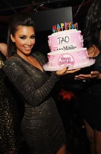 kim kardashian party