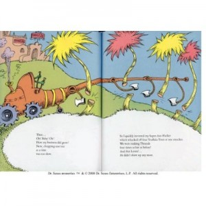 lorax book inside