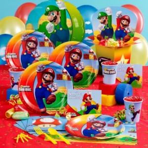 Mario Bros Party Supplies