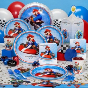 mario kart birthday party supplies