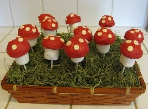 marshmallow mushrooms