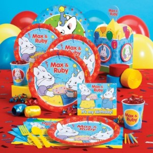 max and ruby party supplies