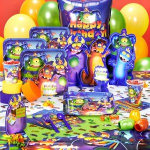 monster mania halloween party supplies - Halloween Party Supplies