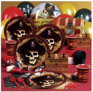 Skull and Crossbones pirate party