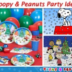 Snoopy &amp; Peanuts Christmas Theme Party Ideas