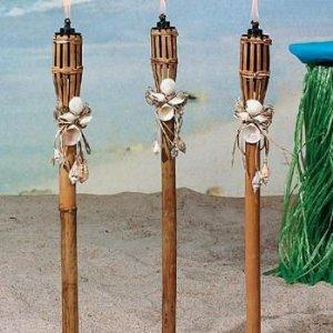 tiki torches