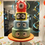 "Yo Gabba Gabba Cakes That Will ""Grabba"" Your Attention"