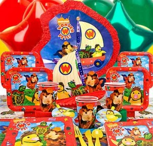 Animal House Party Scene Wonder Pets Theme Part...