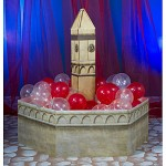 Gothic party fountain