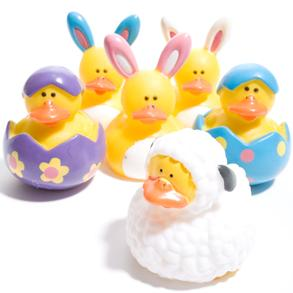 Easter Rubber Duck decorations